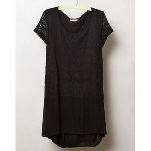 Anthropologie | Meadow Rue Nightfall Lace Tunic
